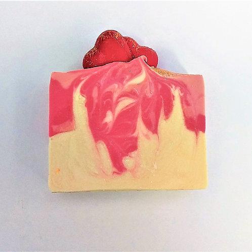 Cherish // Passionfruit Rose Artisan Soap