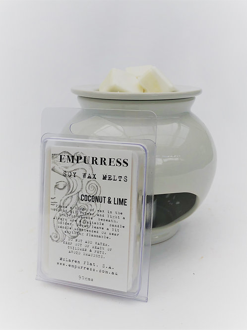 Coconut & Lime Soy Wax Melts