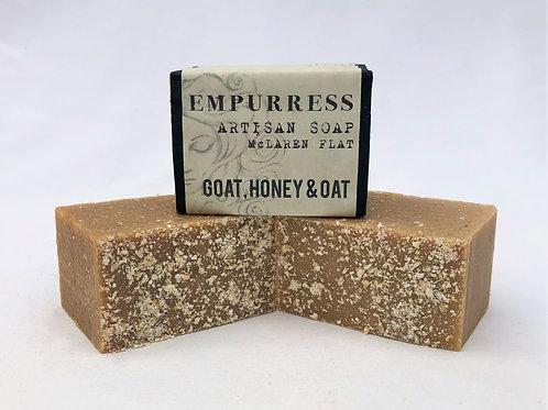 Goat Milk Honey & Oat Soap