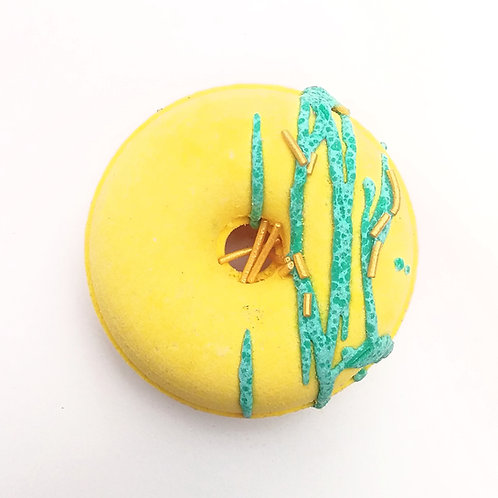 Pineapple Crush Donut Bath Bomb