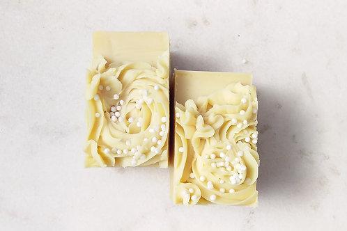 Coconut Milk Artisan Soap - FRAGRANCE FREE!