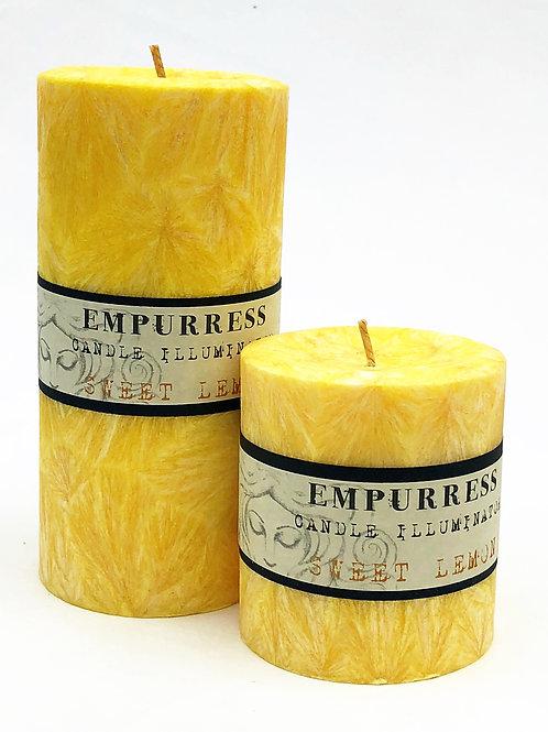 Sweet Lemon Candle Illuminator