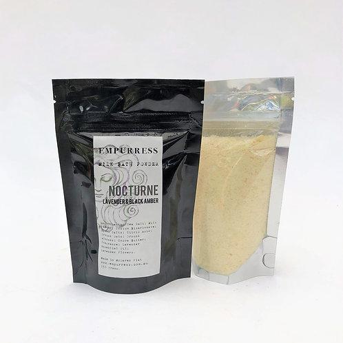 Nocturne Black Amber & Lavender Milk Bath Powder