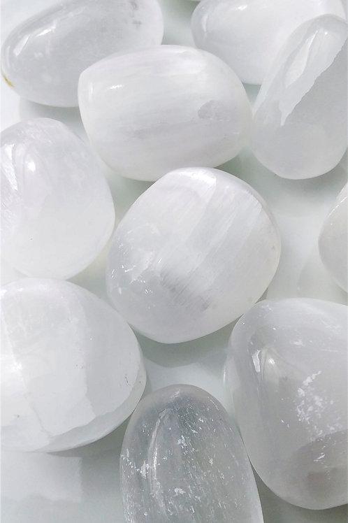Selenite Tumbled Stone
