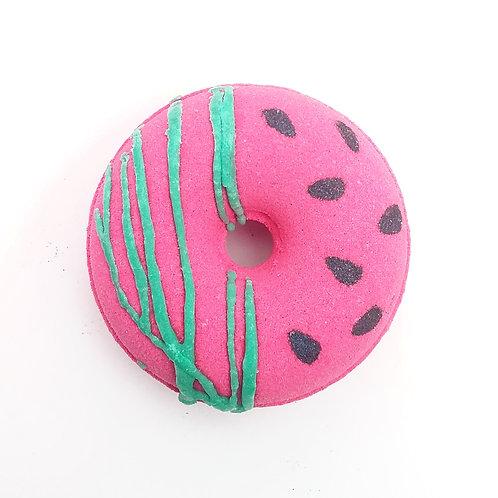 Watermelon Kisses Donut Bath Bomb