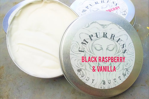 Black Raspberry & Vanilla Body Butter