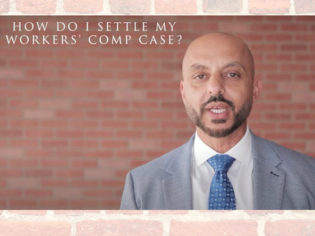How Do I Settle My Workers Comp Case?