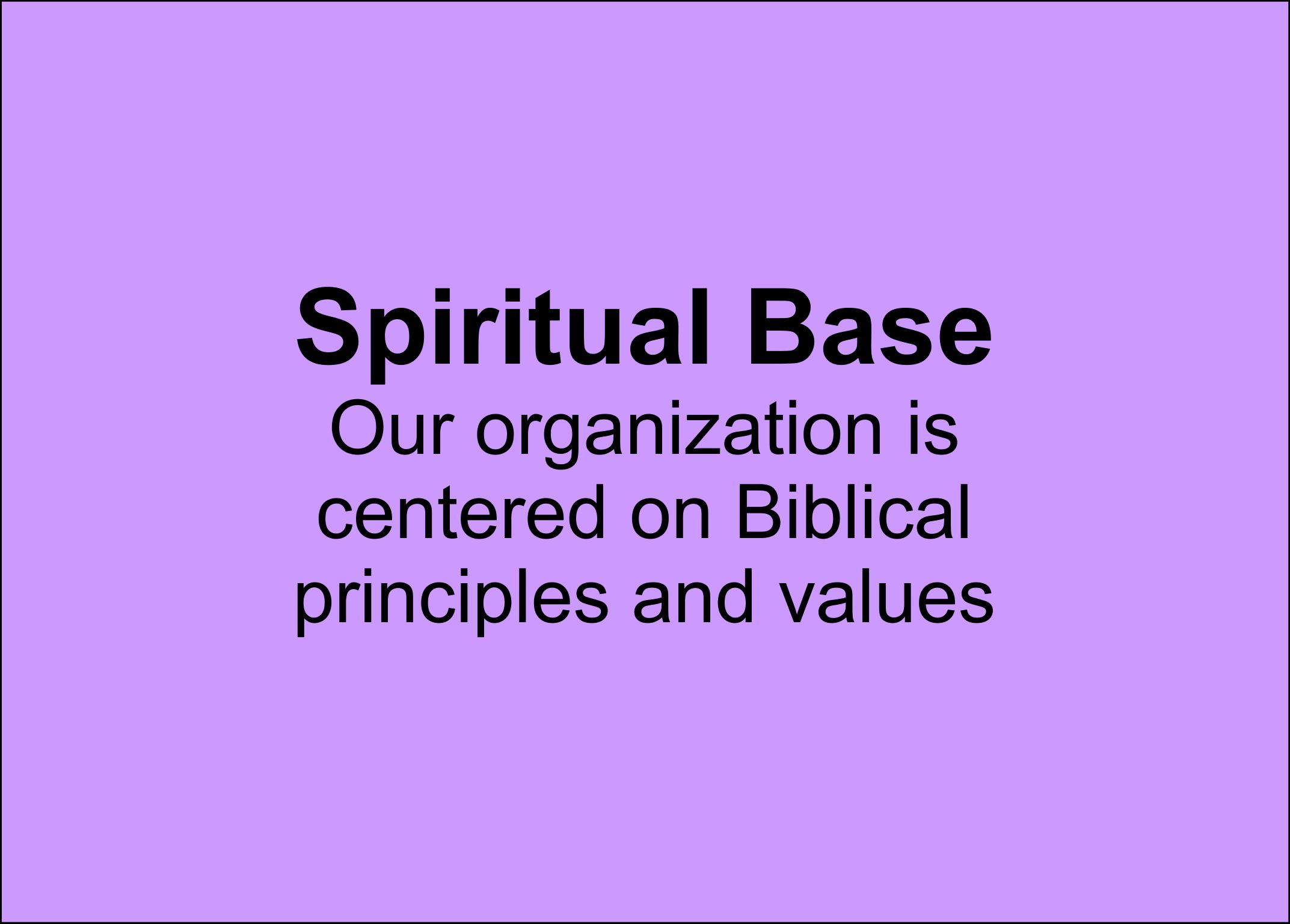 Spiritual Base