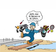 Cartoon Arbo Bouwbedrijf
