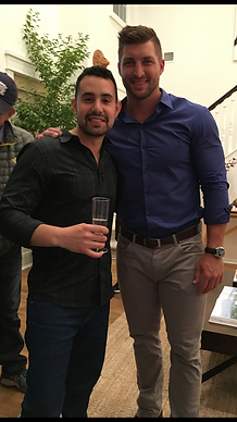 Brian Gabay and Tim Tebow