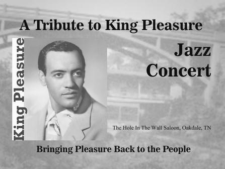 MCTA  Presents King Pleasure Jazz Concert