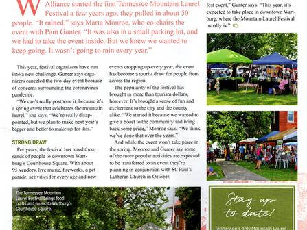 Highland Magazine Article by Jen Calhoun