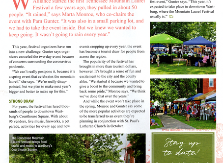 Highland Magazine Article by Jen Calhoun