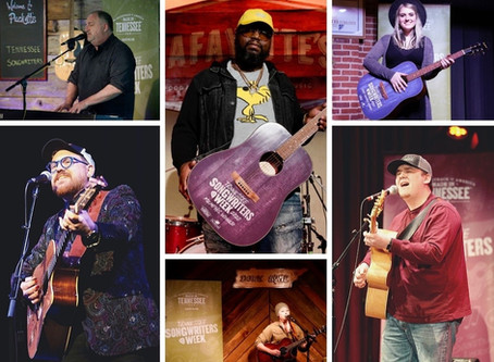 Six Songwriters Selected to Perform at Bluebird Cafe