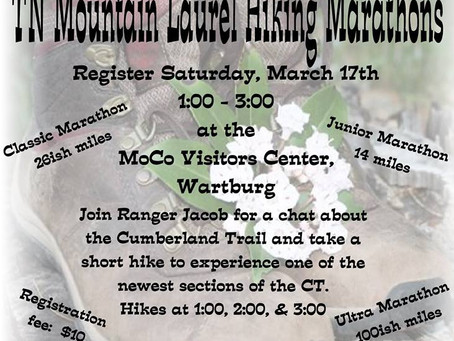 Hiking Registration March 17th!!!