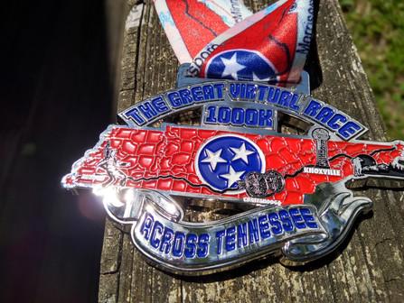 Jody Zorsch, MCTA member, walks across Tennessee!