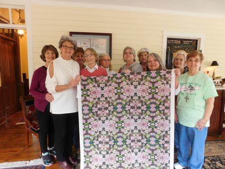 2017 Quilt Show & One of a Kind Historic        Quilt in the Making!