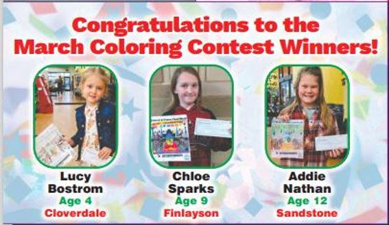 march 21 coloring winners.JPG