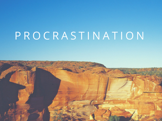 Procrastination. Why we do it and how we can get past it.