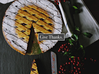 Holiday Series: Finding a Way to Give Thanks when Things are Difficult