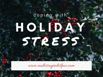 Tips on Managing Stress during the Holidays