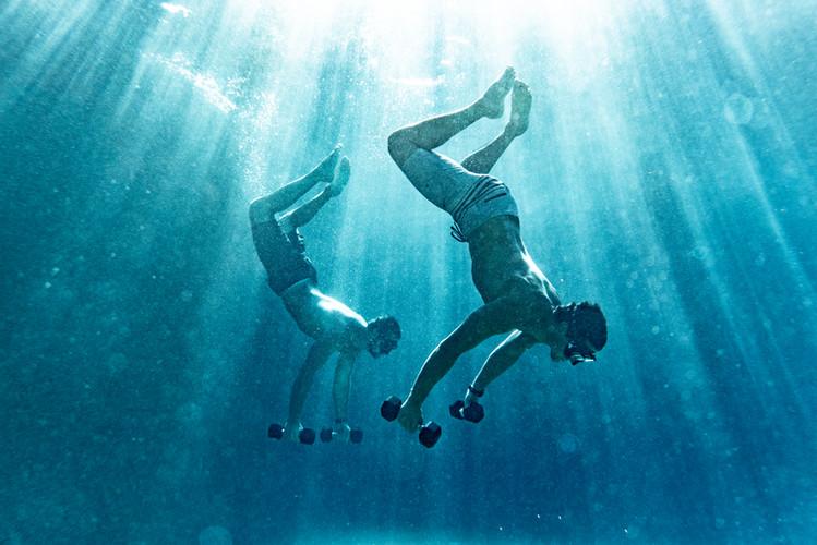 Backflip Mark_PJ synchronized swimmers.j