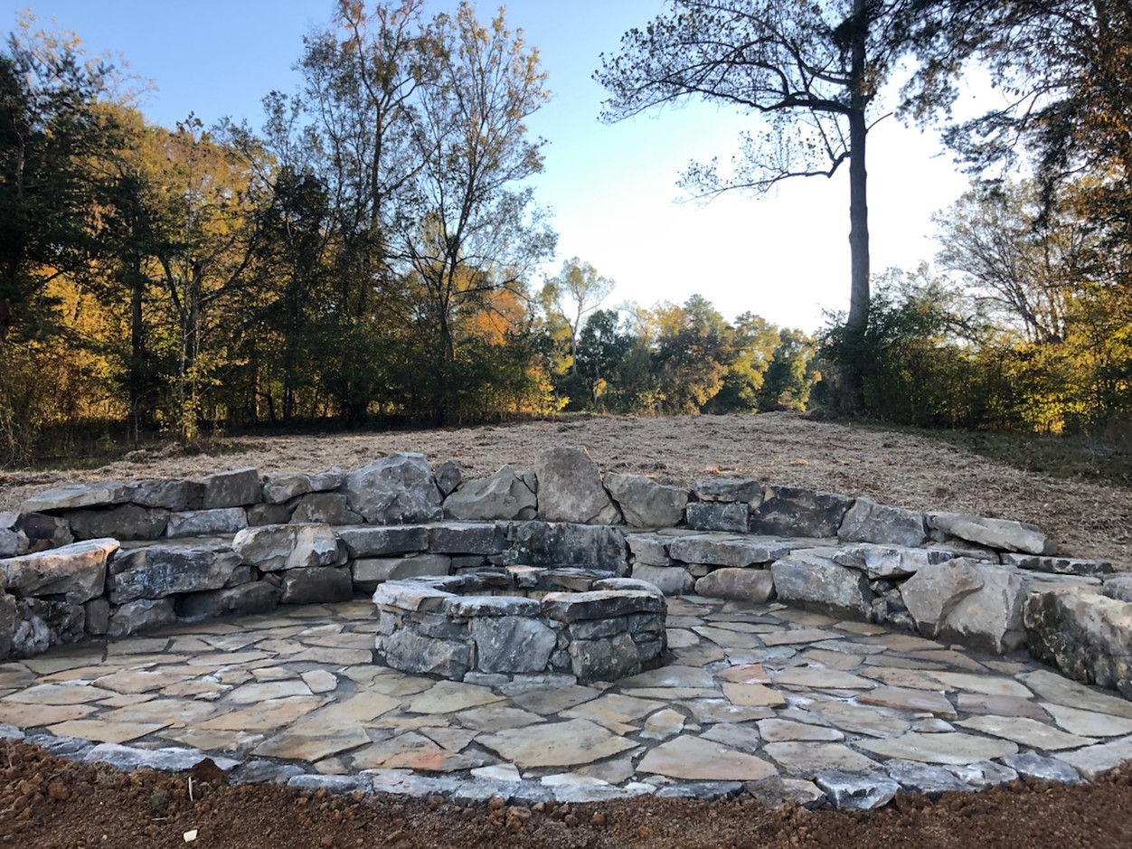 Natural Stone Firefit