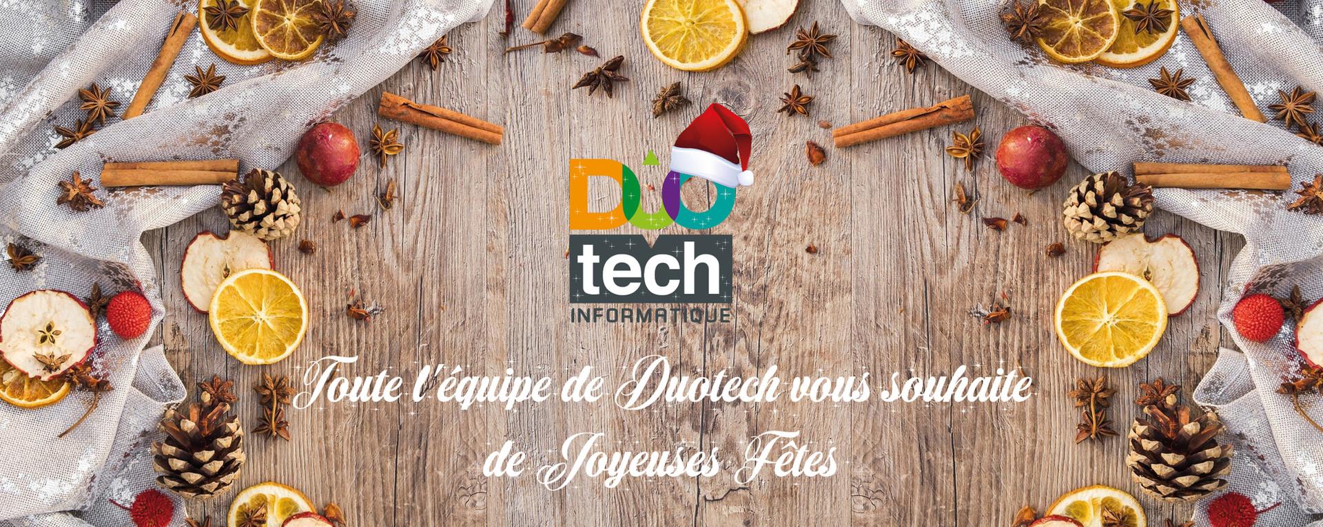 Duotech vous souhaite de joyeuses fêtes