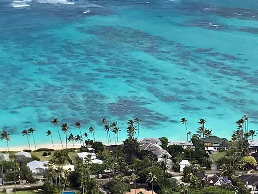 「天国の海」ラニカイへ