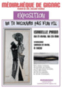 Exposition Isabelle Piron Gignac 2017