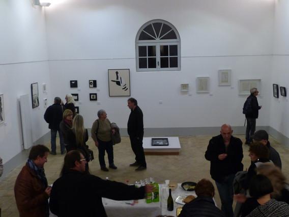 Vernissage du 18_11_2016 TEMPLE à Courno