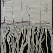 de fibres et de racines