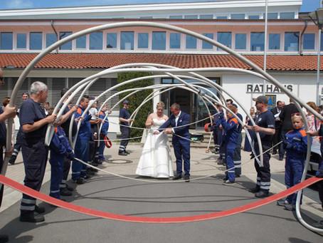 Feuerwehr Hochzeit (01.06.2019)