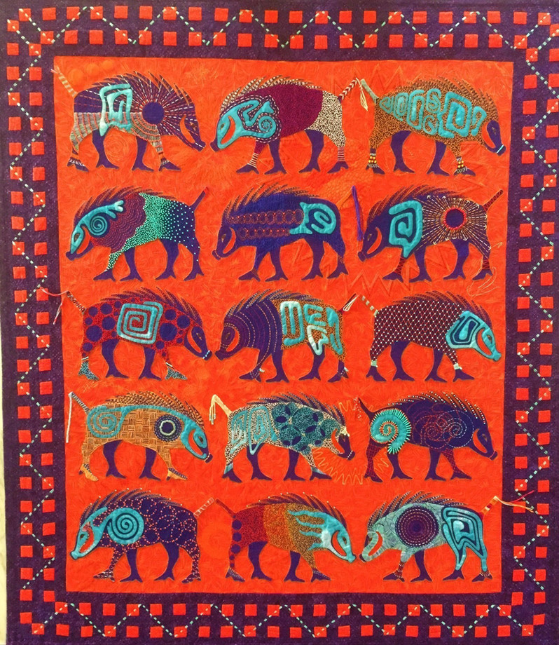 Best Hand Workmanship - Full Size Quilts: INNOVATIVE CATEGORY