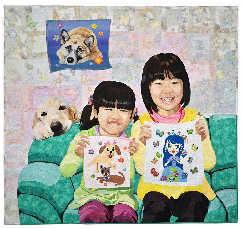 Honorable Mention - Full Size Quilts: INNOVATIVE CATEGORY