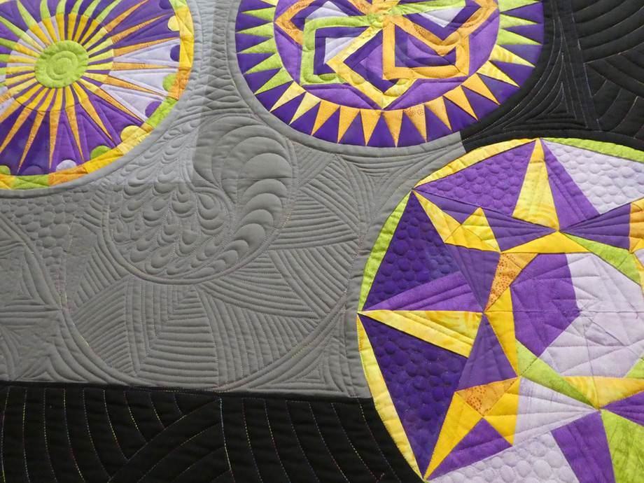 Best Longarm Machine Workmanship - Full Size Quilts: INNOVATIVE CATEGORY
