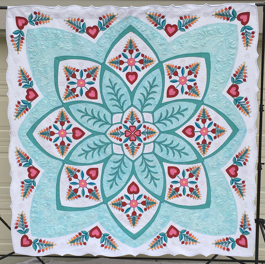 Second Place - Full Size Quilts TRADITIONAL CATEGORY
