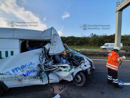 Vekehrsunfall auf A2 (19.08.2019)