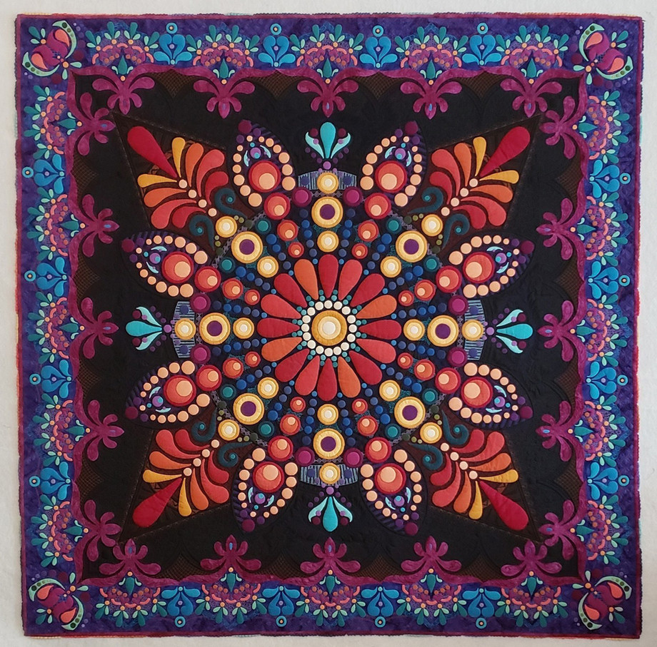 First Place - Full Size Quilts: INNOVATIVE CATEGORY