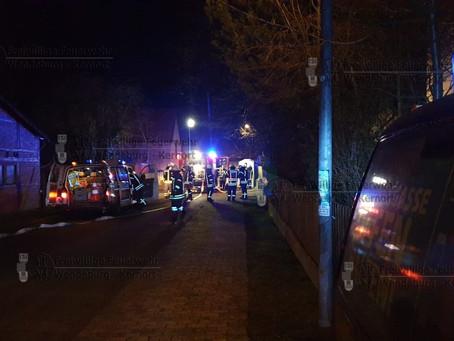 Flackernde Lampe alarmiert Feuerwehr  (20.01.2020)