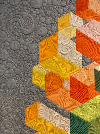 Third Place - MID-CENTURY MOD/MODERN QUILT COMPETITION