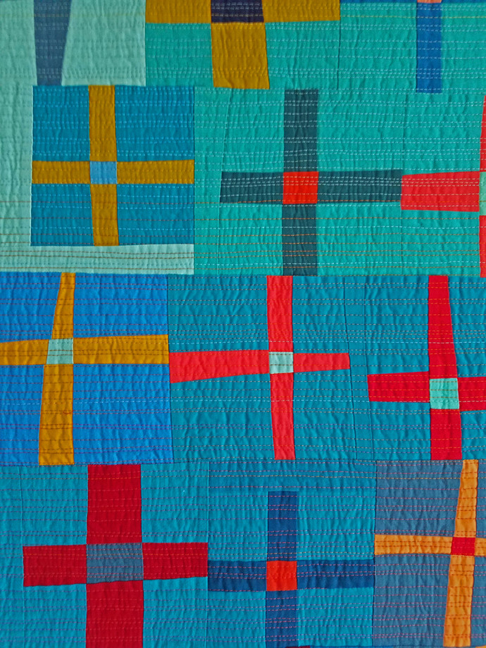 Best Use of Color - MID-CENTURY MOD/MODERN QUILT COMPETITION