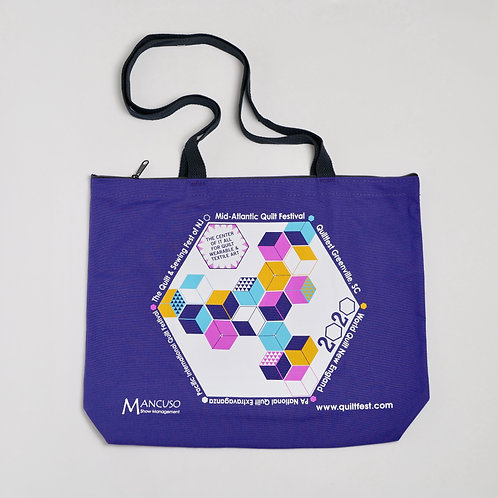QuiltFest 2020 Tote Bag