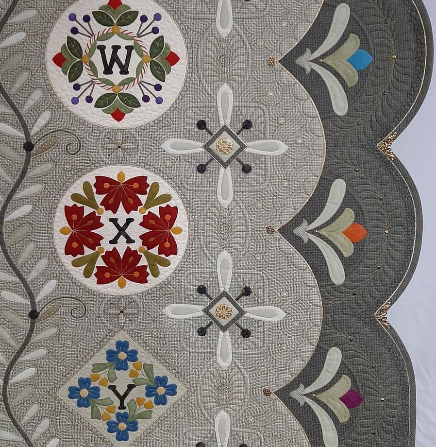 Best Sewing Machine Workmanship - Traditional (detail)