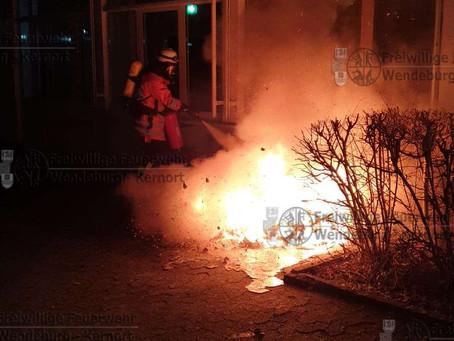 Feuerschein an Aueschule (14.03.2020)