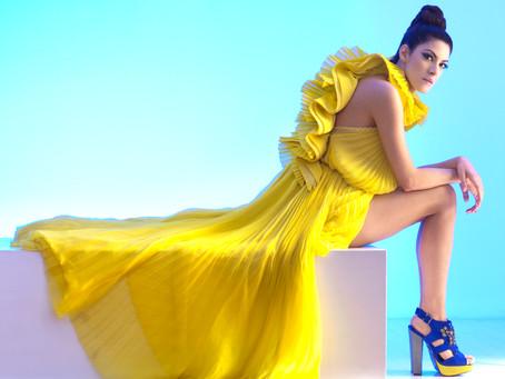 A diva pop italiana Aramà lança clipe e se apresenta no Ronnie Von.