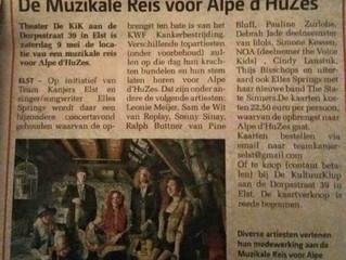 The State Sinners in de krant!