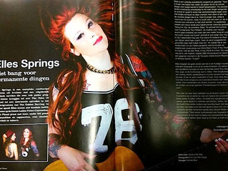 *OUT NOW!!!* TattooPlanet Interview met Elles