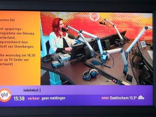 Op Tv & Interview bij Omroep Gelderland