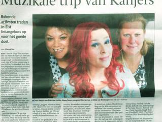 Item 'De Muzikale reis' in De Gelderlander